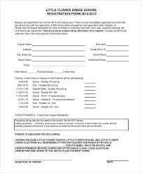 free registration form template word registration form template 9