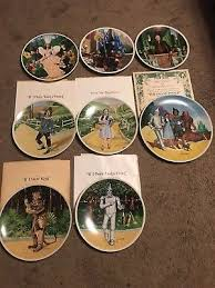 40th anniversary plates 40th anniversary the wizard of oz plates by knowles 1 200 00