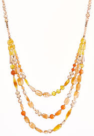 bead necklace jewellery images Chunky layered bead necklace necklaces cato fashions jpg