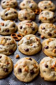 butterscotch pretzel chocolate chip cookies sallys baking addiction