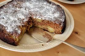 rhubarb polenta cake yum babyccino kids daily tips