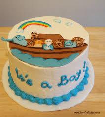 noah u0027s ark baby shower noah u0027s ark cake for a baby shower twee