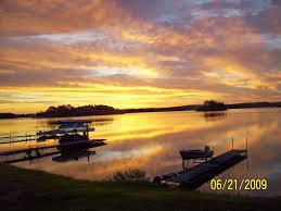 sunset on pokegama lake my hometown grand rapids mn beautiful