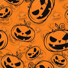 halloween texture seamless texture with halloween pumpkin u2014 stock vector r lion o