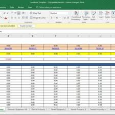 Landlord Spreadsheet Free Landlord Expenses Spreadsheet Templates Yaruki Up Info