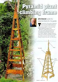 Wooden Trellis Plans Garden Obelisk Trellis Plans Home Outdoor Decoration