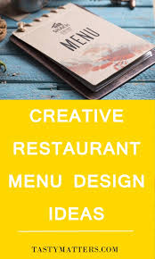 49 creative restaurant menu design ideas that will trick people