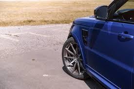 blue range rover range rover sport svr adv10 m v1 cs concave wheels adv 1 wheels
