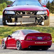 mustang modified mustang cobra ford modified slammed mustangs pinterest