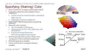 introduction to color see chapters 5 and ppt download
