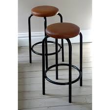 Industrial Metal Bar Stool Vintage Industrial Bar Stools With Wood Kitchen Vintage