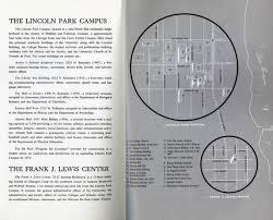 depaul map depaul lincoln park cus during sixties before the bars