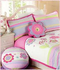 Toddler Girls Bedding Sets by Toddler Bedding Set Floral 2pc Quilt Set Turquoise Purple Pink