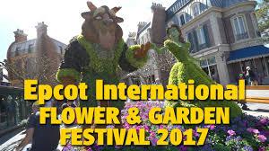 2017 epcot international flower u0026 garden festival highlights youtube