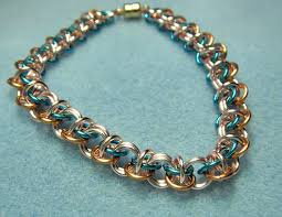 necklace link patterns images Chain maille jewelry patterns chain mail jewelry star and muchael jpg