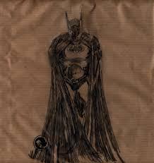 gary dartagnan brown paper bag drawing