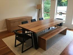 Large Kitchen Tables With Benches Kitchen Round Glass Dining Table Bench Table Set Dinette Sets
