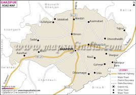 road map up ghazipur road map