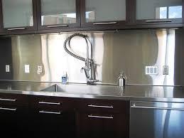 stainless steel kitchen backsplash ideas stainless steel modern kitchen design with modern faucet 2095