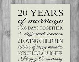 20 year wedding anniversary collection 20th anniversary gifts for photos daily quotes