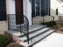 Wooden Front Stairs Design Ideas Front Doors Trendy Front Door Steps Idea For Great Looks Home