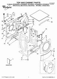 whirlpool wfw9400sw01 parts list and diagram ereplacementparts com