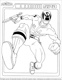 cool power rangers coloring pages coloring pages boys