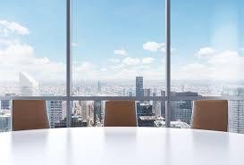 le de bureau york salle de conférence panoramique dans le bureau moderne vue de