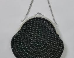 vintage black vintage clutches evening bags etsy