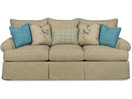 Slipcovers For Sofas With Three Cushions Paula Deen By Craftmaster Living Room Three Cushion Sofa P997050bd