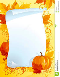 autumn blank for thanksgiving stock vector image 33956560