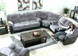 gray sectional sofa microfiber full image for leather 3 piece