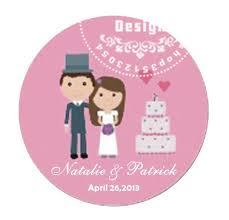 wedding gift labels 50pcs lot 3cm diameter customize wedding gift labels custom stickers