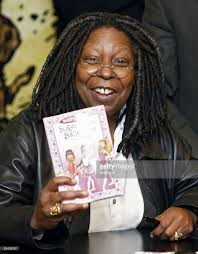 whoopi goldberg signs copies of her book