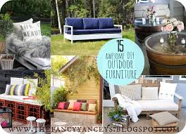 Make Cheap Patio Furniture by Garden Week 15 Awesome Diy Outdoor Furniture Ideas Vintage