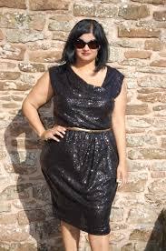 oop butterick 5871 diy black sequin cocktail party dress sewmanju