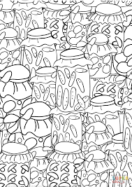 glass jars pattern coloring page free printable coloring pages
