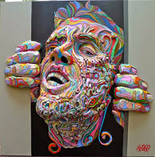 simply creative three dimensional paintings by shaka