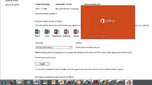 download and install office 365 pro plus free office for