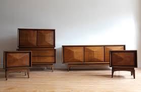 mid century modern bedroom sets mid century modern bedroom set by united furniture in west