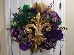mardi gras deco mesh created twists february 2013