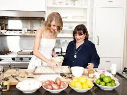 behind the scenes ina garten and taylor swift food network
