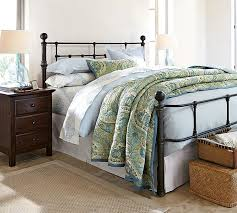 Quilted Bed Frame Mendocino Bed Pottery Barn