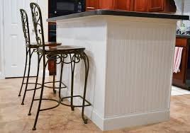wrought iron kitchen island stylish add beadboard kitchen island with white paint color