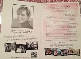 Funeral Program Ideas Funeral A Journey Through Healing