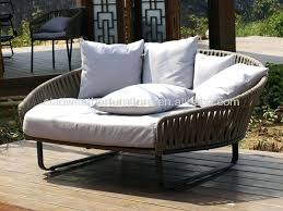 round outdoor daybed large gorgeous with wholesale hot selling for