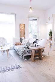 canap deco deco salon bois et blanc int c3 a9rieur scandinave canap a9 tapis