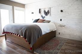distressed white wood wall diy kristin eldridge distressed painted