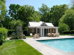 Tiny Pool House Pool Houses Designs Cool Small Pool Ideas With Oval Pool Design