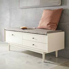 Bench With Storage White Entry Bench With Shoe Storage U2013 Vcomimc